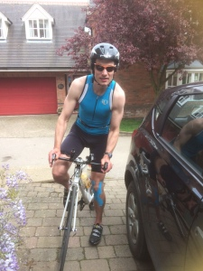 A Ashwin After 100 mile Bike Ride 2015